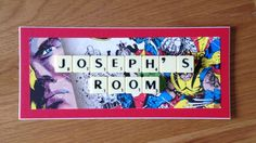 SJ's loves past projects - marvel superhero, name room plaque, scrabble art #mycraftinesshappiness