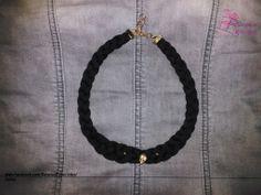 Collar con calavera!  Personalizable: - Color  www.facebook.com/RegalosEspeciales/