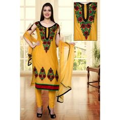 Designer Chanderi Suit