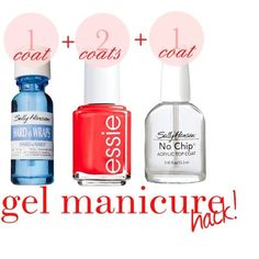 Gel manicure hack