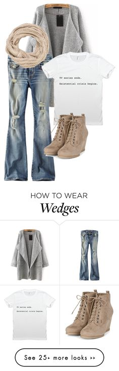 """""""Cozy"""" by pointycircle on Polyvore featuring American Eagle Outfitters and maurices"""