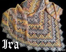 Crochet Knitting Handicraft: shawl Crochet Motif, Irish Crochet, Crochet Shawl, Crochet Designs, Crochet Flowers, Knit Crochet, Childrens Crochet Hats, Crochet For Kids, Knitting Patterns
