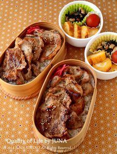Ginger Pork Bento しょうが焼き丼弁当
