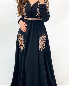 Hijab Fashion, Fashion Dresses, Punk Fashion, Lolita Fashion, Vip Dress, Morrocan Dress, Mode Abaya, Stylish Blouse Design, Afghan Dresses