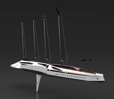 Albatross yacht, Tarun Sharma, luxurious yachts, Albatross Yacht, concept yacht, future vehicles, futuristic vehicle