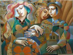 Оригинальные картины Олега Живетина (Oleg Zhivetin) -After Game