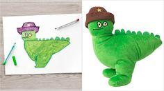 1. En fin grön drake