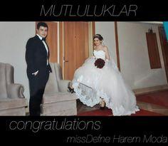 mutluluklar dileriz Gefeliciteerd, congratulations #missdefne #haremmoda #harem #moda #hilversum #nederland #hollanda #hilversum #gooi #gelinlik #gelinlikci #bruidsmode #bruidsjurken #trouwjurken #japon #japonnen #damat #gelin #dugun