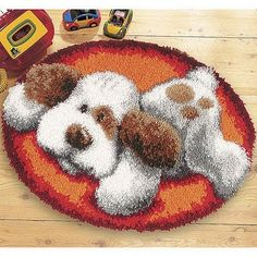 = Made by NURAN =: Latch Hook Latch Hook Rug Kits, Punch Needle Patterns, Yarn Thread, Rug Hooking, Handmade Rugs, Pattern Art, Needlepoint, Crochet Projects, Needlework