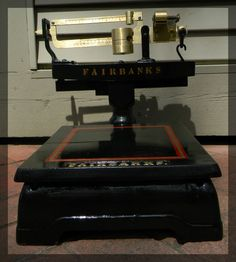 Vintage 20 000lbs Fairbanks Beam Scale As Pictured