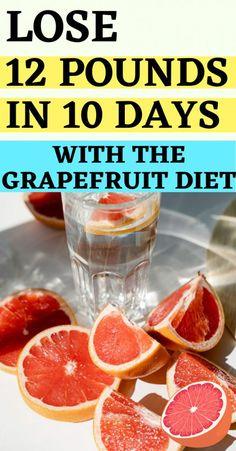 Egg Diet Losing Weight, Best Diet Plan For Weight Loss, Fat Loss Diet, Weight Loss Drinks, 4 Day Diet, 10 Day Detox Diet, Cleanse Diet, Grapefruit Juice Diet, Grapefruit Recipes