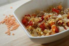 Kasza jaglana dla niemowlaka Toddler Meals, Grains, Menu, Rice, Food, Menu Board Design, Essen, Meals, Toddler Food