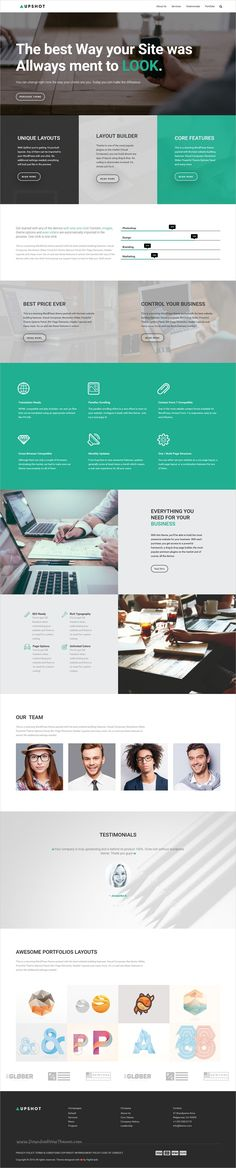 Upshot is an intuitive, flexible and powerful #WordPress theme, designed to suit the needs of small #businesses and creative professionals websites with 10+ niche homepage layouts download now➩  https://themeforest.net/item/upshot-business-multi-purpose-wordpress-theme/19291375?ref=Datasata