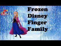 Finger Family Frozen Disney Family Nursery Rhyme |Frozen Disney Finger F...