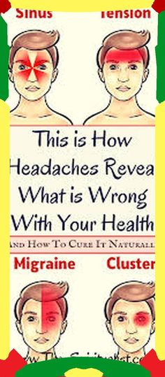 This is How Headaches Reveal What is Wrong With Your Health And How To Fix The Problem Naturally