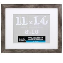 Gray Belmont Frame With Mat By Studio Decor Studio Decor Wall Frames Frame