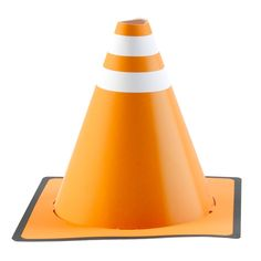 construction cone party hat