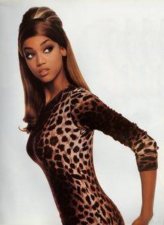 Tyra Banks, circa early 90s