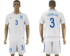 http://www.xjersey.com/201617-greece-3-tzavellas-home-soccer-jersey.html 2016-17 GREECE 3 TZAVELLAS HOME SOCCER JERSEY Only 33.11€ , Free Shipping!