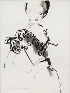 one of my favourite illustrators - David Downton