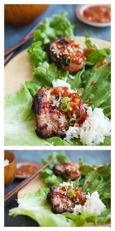 {Korea} Crazy delicious Korean BBQ Chicken (Dak Gogi). Making Korean BBQ is easier than you think with this quick and easy recipe | Easy Asian Recipes http://rasamalaysia.com