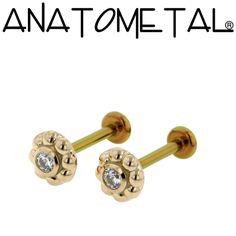 13 Best Anatometal Flat Back Labrets Images Piercings Body
