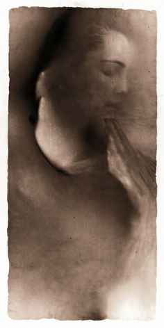 """Photo by Alvin Booth from the """"Osmosis"""" series. 40 x 20 cm x inch) Silver Gelatin Photograph, Copper and Glass, Ed. Raw Beauty, In This Moment, Gelatin, Photographers, Sketches, Copper, Paintings, Heart, Amazing"""