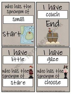 60 Synonyms Ideas Speech And Language Synonym Teaching
