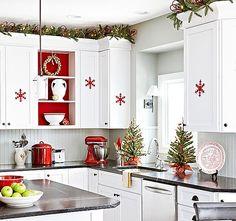 http://www.ireado.com/kitchen-curtain-ideas-create-your-christmas-more-splendor/ Kitchen Curtain Ideas, Create Your Christmas More Splendor : Snowflake Ornaments In The Kitchen Curtain Ideas