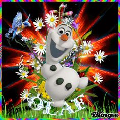 Olaf and summer things