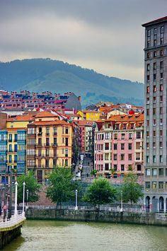 Bilbao, Basque Country. Oh The Places You'll Go, Places To Travel, Places To Visit, Bilbao San Sebastian, Budapest, Amsterdam, Barcelona, Basque Country, Spain And Portugal