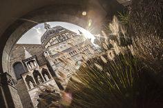 Chapelle Colleoni sur la place du dome à Bergame - Lombardie, Italie