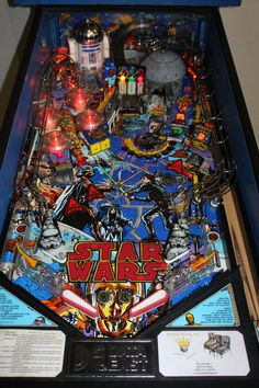 Arcade Games, Pinball Games, Video Game Music, Video Games, Flipper Pinball, Best Spotify Playlists, Pinball Wizard, Penny Arcade, Star Wars