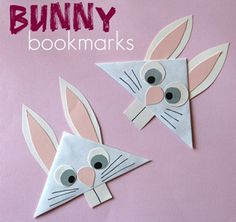 Enjoy Easter holiday with these fun kids crafts, Easter Holiday Craft Gifts for Kids and Activities.Hop to it! Do it yourself with these clever Easter ideas. Craft Projects For Kids, Easter Crafts For Kids, Animal Projects, Diy Projects, Craft Ideas, Spring Crafts, Holiday Crafts, Diy Marque Page, Diy Bookmarks