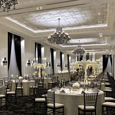 Love the look & the décor! Add in my wedding colours & change the lighting & it would be perfect! Trump Hotel (Toronto)