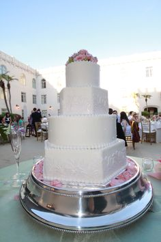 Katie & Andy's Wedding Cake @ St. Augustine