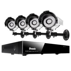 Zmodo 4CH H.264 Security Surveillance DVR Camera System & 4 Outdoor Night Vision Weatherproof Surveillance Cameras and No Hard Drive. Details at http://youzones.com/zmodo-4ch-h-264-security-surveillance-dvr-camera-system-4-outdoor-night-vision-weatherproof-surveillance-cameras-and-no-hard-drive/