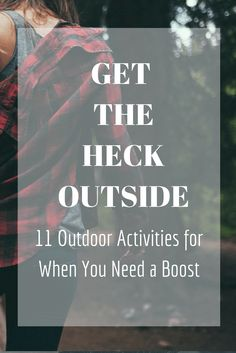 Get the Heck Outside-Outdoor Activities to Get You Out of a Funk - Radical Transformation Project Outdoor Activities For Adults, Outside Activities, Autumn Activities, Therapy Activities, Relaxation Activities, Outdoor Games, Living With Depression, Beating Depression, Depression Recovery