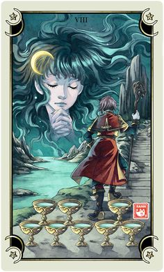 ::Tarot-Minor Arcana-8 of Cups:: by rann-poisoncage.deviantart.com on @deviantART