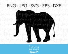 #Elephant #cutfile #silhouette #cricut #cameo #svg #dxf https://www.etsy.com/listing/531195938/elephant-svg-file-elephant-cut-file-svg?utm_campaign=crowdfire&utm_content=crowdfire&utm_medium=social&utm_source=pinterest