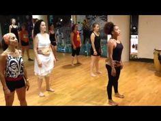 Dança Afro em Barcelona com Tatiana Campêlo.