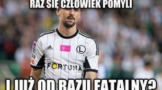 Legia Warszawa przegrała z FC Midtjylland. Michał Kucharczyk bohaterem memów