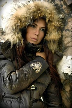 1000 Images About Furtremmed Hood Downjacket On Pinterest
