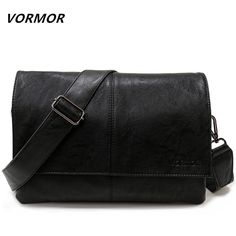 Buy now VORMOR Brand Casual Envelope Handbag Bags Men's Leather Shoulder Crossbody Bag Business Satchel Men Messenger Bags just only $17.34 with free shipping worldwide  #crossbodybagsformen Plese click on picture to see our special price for you