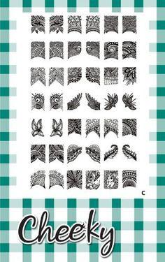 2012 New Collection of Jumbo Nail Art Image Plates. Nail Art Jumbo Image Plate (C) of 42 Full Nail Art Designs, By Cheeky. by Cheeky, http://www.amazon.com/dp/B006OMHV00/ref=cm_sw_r_pi_dp_MAKMqb0N1SF89