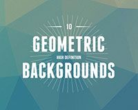 Free download: Awesome low-poly PSD backgrounds