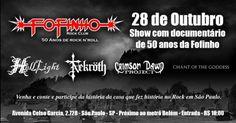 No dia 28 de outubro o HELLLIGHT celebrará em um grande show mais um pedaço da história do Rock/Metal na cidade São Paulo. Juntamente com os shows das bandas HELLLIGHT, Nekroth, Crimson Dawn Projec…