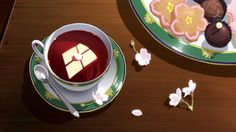 anime cute desserts tumblr - Google Search