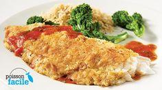 Aiglefin en croûte de parmesan | Recettes IGA | Aiglefin, Recette facile, Recette rapide