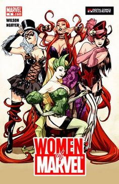 Superhero Women of Marvel... Yep Yep gotta love them!